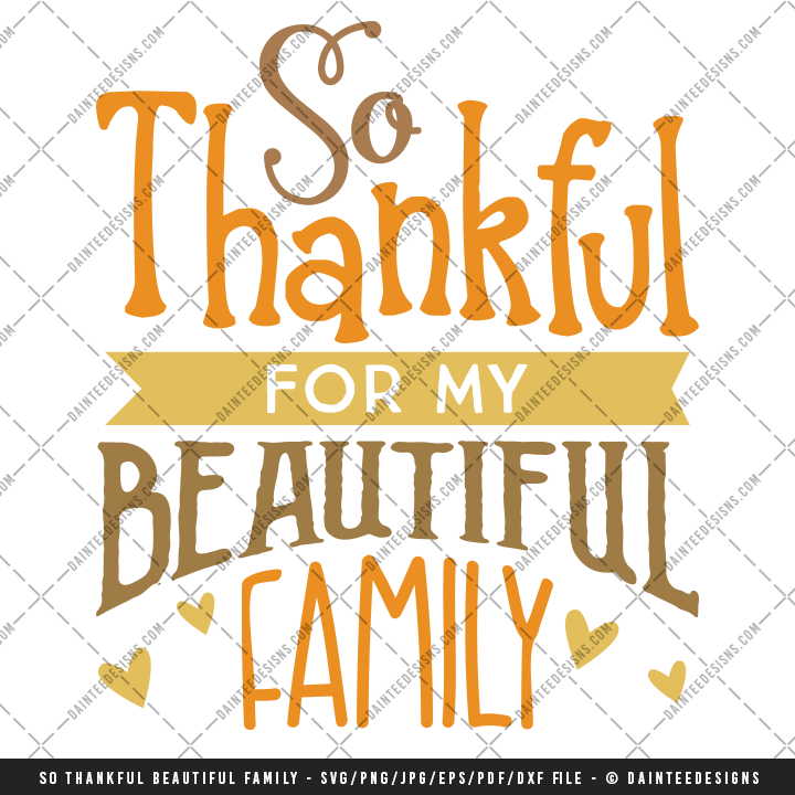 so thankful for my beautiful family svg  dxf  eps autism awareness day clipart autism awareness day clipart