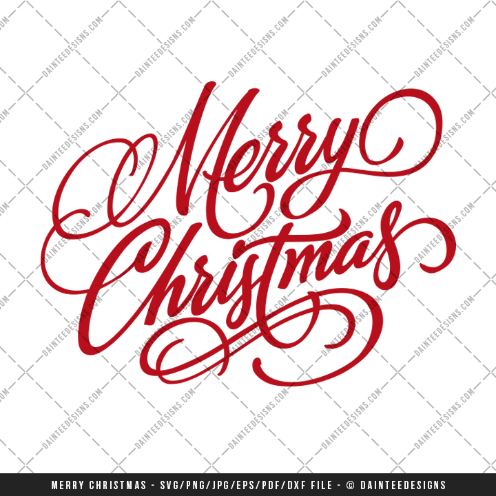 merry christmas script svg