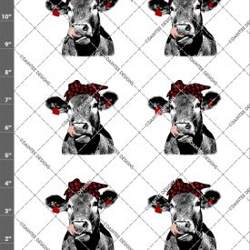 Cow Lick Plaid Bandanna Waterslide Sheet